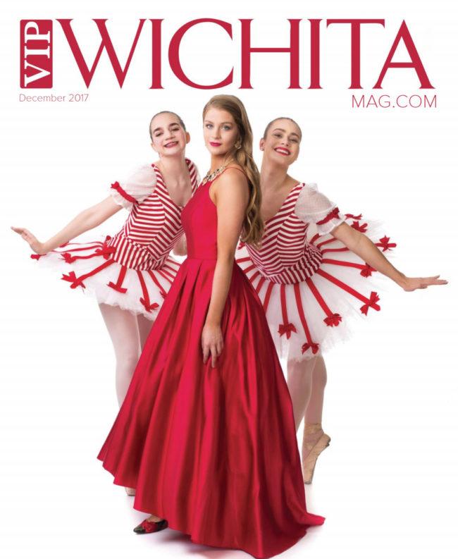 Alexandra Palmer of M&I with Nutcracker ballerinas