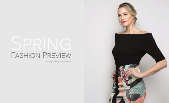 VIP Spring Fashion Preview | Photography by Aaron Patton